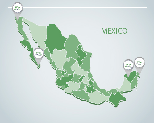 EDP Projects in Mexico